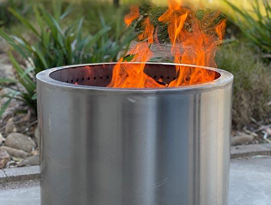 VisionLINE Outdoor Firepit